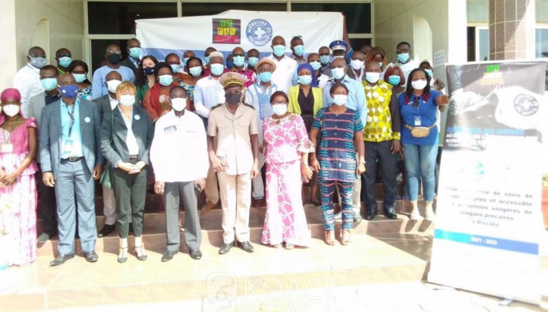 Côte d'Ivoire : « Ya pas Drap », un projet visant à aller vers les usagers de drogue, désormais à Bouaké