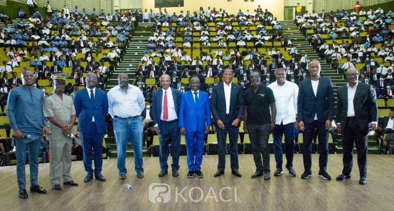 Côte d'Ivoire : Invité à Yamoussoukro, le ministre Bruno Koné partage son expérience avec des étudiants