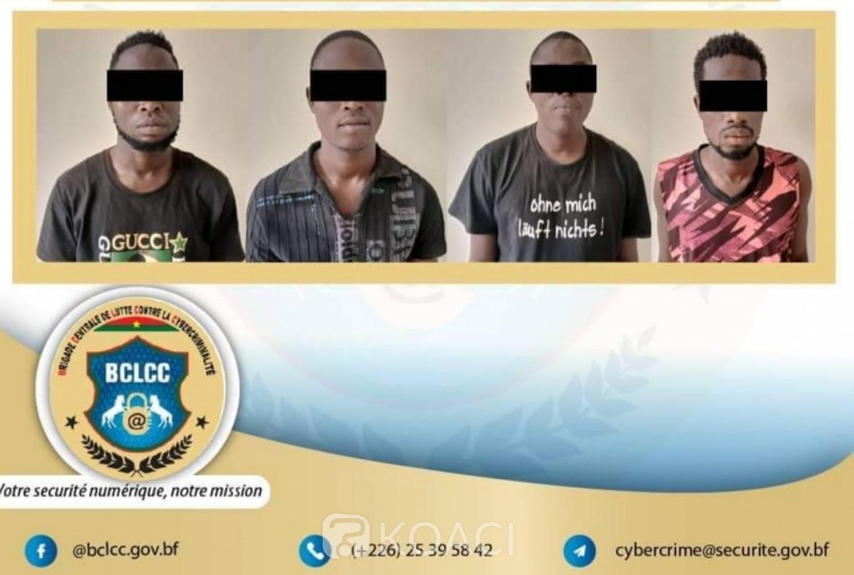 Burkina Faso : un groupe de quatre escrocs de nationalité étrangère démantelé