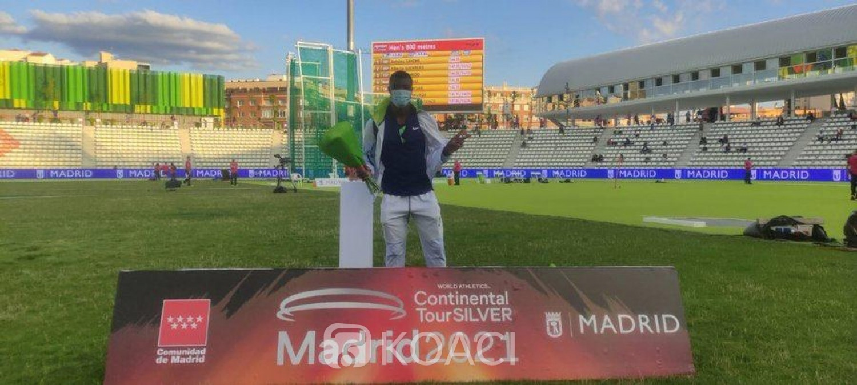 Burkina Faso : Triple-saut, Hugues Fabrice Zango remporte le meeting de Madrid