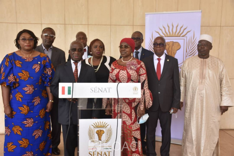 Côte d'Ivoire :  Hauhouot Asseypo Antoine, Président de l'ASCAD devant les sénateurs : « il est temps maintenant que le Savant aille vers la Société pour lui apporter des réponses à ses préoccupations