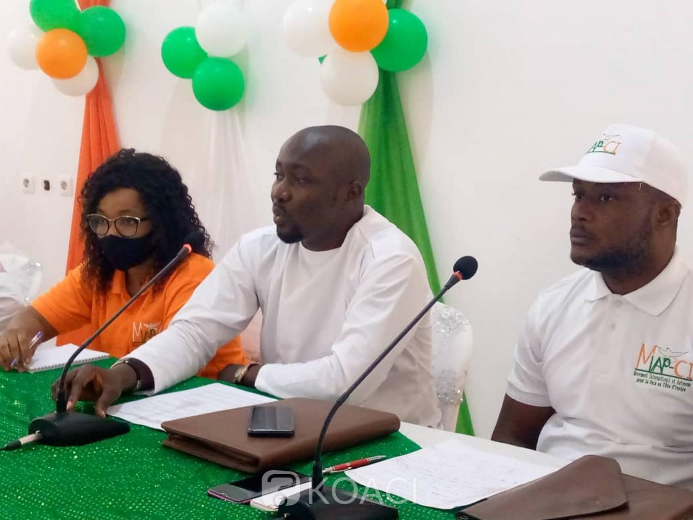 Côte d'Ivoire : Depuis Cocody, des jeunes invitent les acteurs politiques à mettre l'accent sur les programmes de gouvernance au détriment de la violence