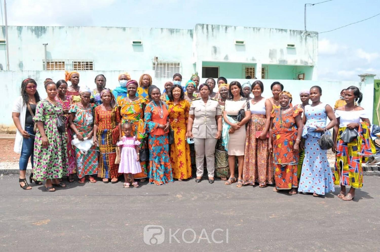 Côte d'Ivoire : Installée nouvellement, la préfète sollicitée par des femmes « pour le retour du tissu social dans leur département »