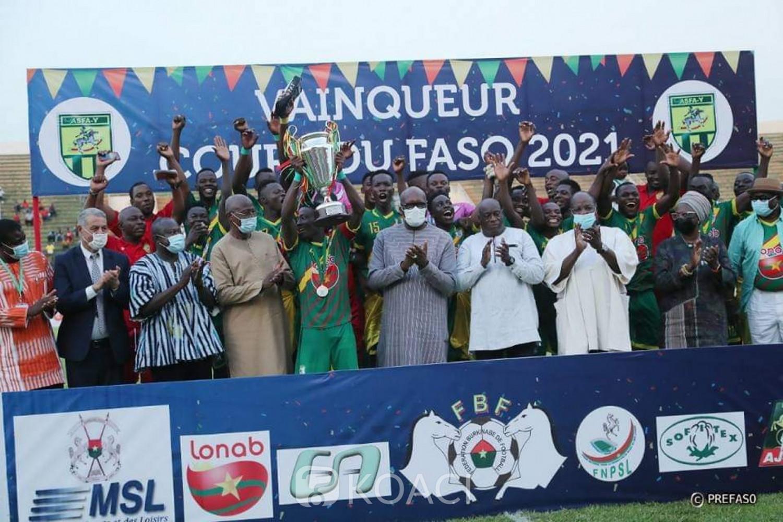 Burkina Faso : L'ASFA-Yennenga vainqueur de la 34e édition de la coupe du Faso