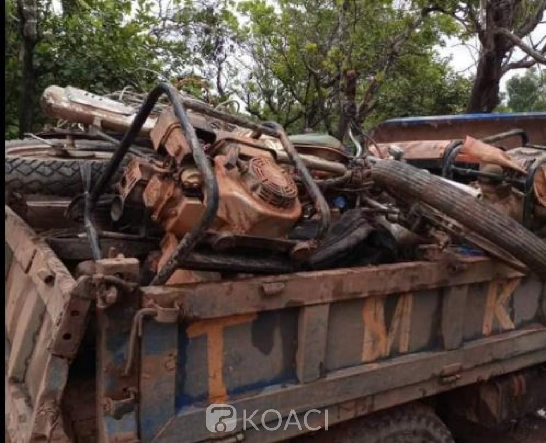 Côte d'Ivoire : Lutte contre l'orpaillage clandestin, la Gendarmerie interpelle dix « clandos » et saisi leurs matériels