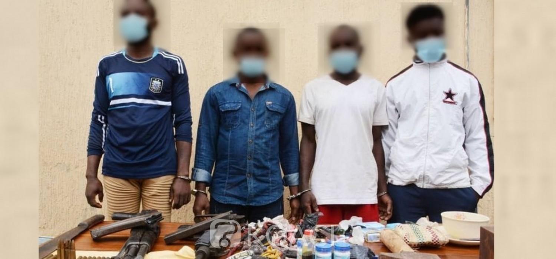 Togo :  Arrestation de quatre présumés auteurs d'un braquage à l'aéroport en 2014