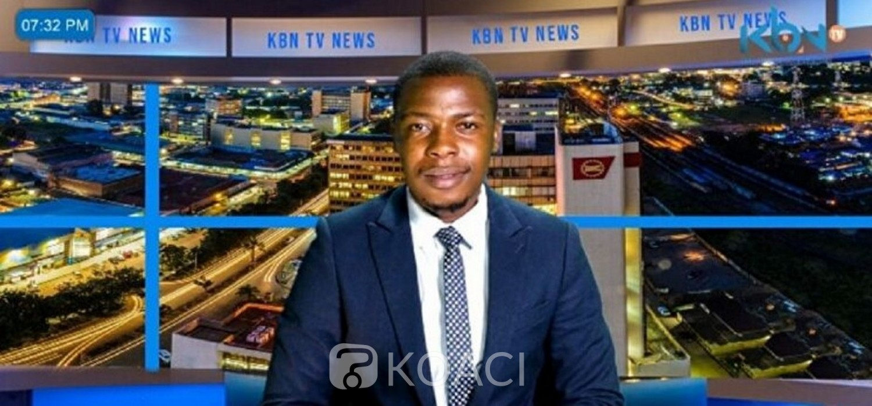 Zambie :  Un présentateur déroute un journal télévisé à Lusaka