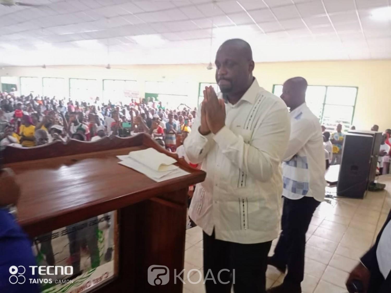 Côte d'Ivoire :  Après dix ans d'absence, de retour à Daloa, Stéphane Kipré à ses parents : «Pro-Gbagbo ne signifie pas insulter Alassane Ouattara. Ne comptez pas sur moi pour l'insulter »