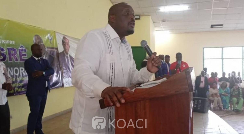 Côte d'Ivoire :   Stéphane Kipré inquiet pour Daloa, plaque tournante de l'immigration clandestine, il craint le bicéphalisme à la tête des régions à cause de la nomination des ministres-gouverneurs