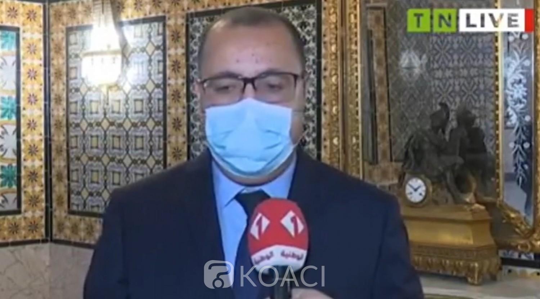Tunisie : Le premier ministre Hichem Mechichi attrape le coronavirus