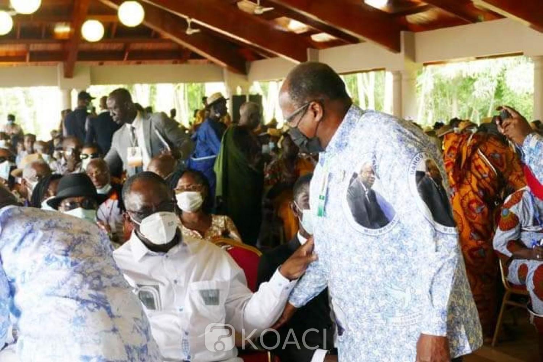 Côte d'Ivoire : A Mama, Guikahué annonce une rencontre Gbagbo-Bédié et confie qu'une alliance entre le FPI-GOR et le PDCI n'est pas à exclure
