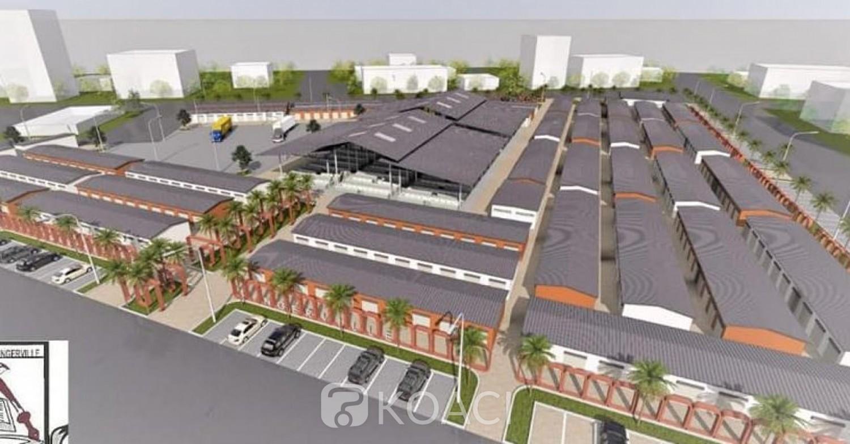 Côte d'Ivoire : Après Koumassi, la ville de Bingerville va se doter d'un nouveau marché, voici ses caractéristiques