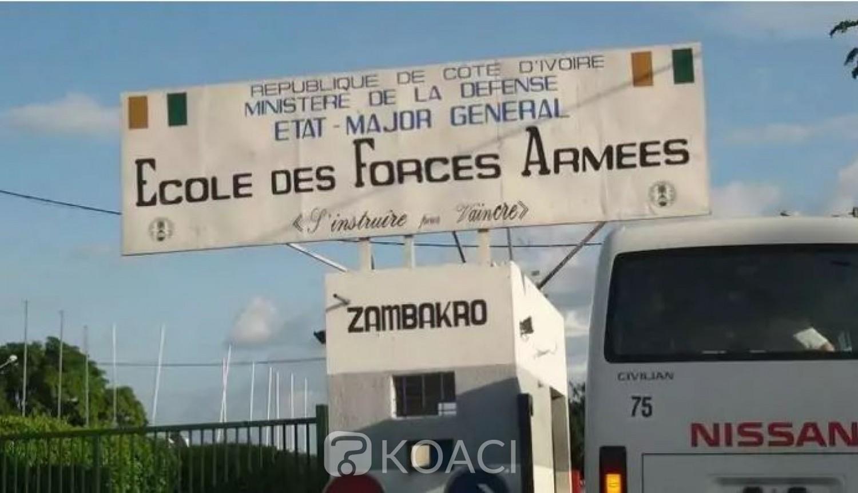 Côte d'Ivoire : 34 officiers de l'EFA devant le Tribunal Militaire pour des bizutages qui ont viré au drame