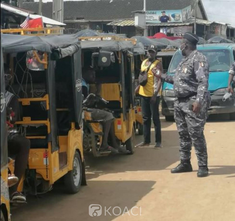 Côte d'Ivoire : Les Motos-taxis et tricycles invités pour la énième fois à se conformer aux règles