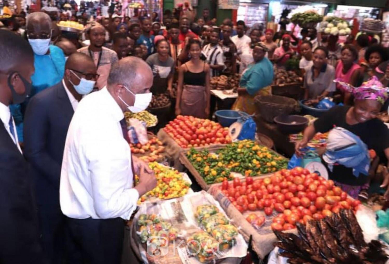 Côte d'Ivoire : Augmentation des prix des denrées alimentaires, Patrick Achi sur le terrain pour  s'enquérir des raisons