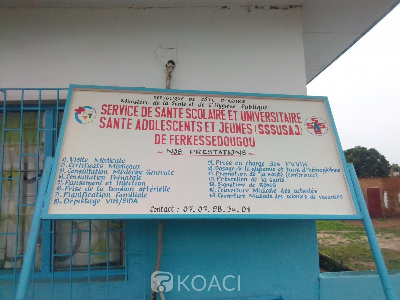 Côte d'Ivoire : Ferké, sans  surveillance depuis des années, le médico scolaire cambriolé pour la seconde fois