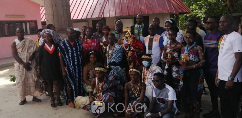 Côte d'Ivoire : Promotion du pagne traditionnel, les ministres Belmonde Dogo et Raymonde Goudou distinguées au cours de la 6ème édition du festival Tchin-Dan