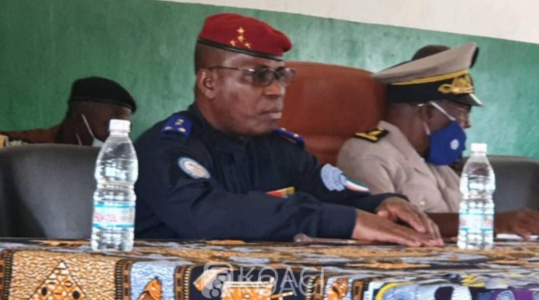 Côte d'Ivoire : Facobly, suite aux événements qui ont succédé au meurtre d'une jeune élève, le Général Apalo sur les lieux et interpelle