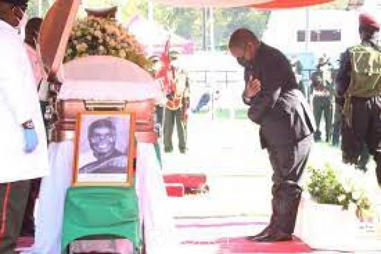 Zambie : Le lieu d'inhumation du père de l'indépendance Kenneth Kaunda divise
