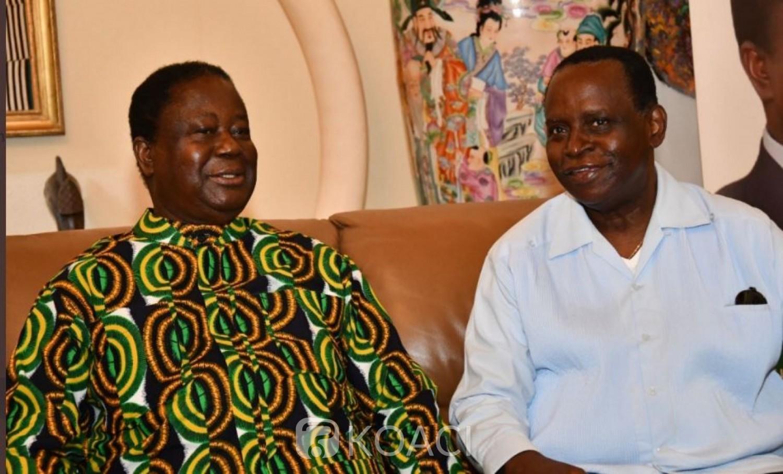 Côte d'Ivoire : Recevant Akossi à Daoukro, Bédié réaffirme la politique de l'union et du rassemblement prônée dit-il  par son parti