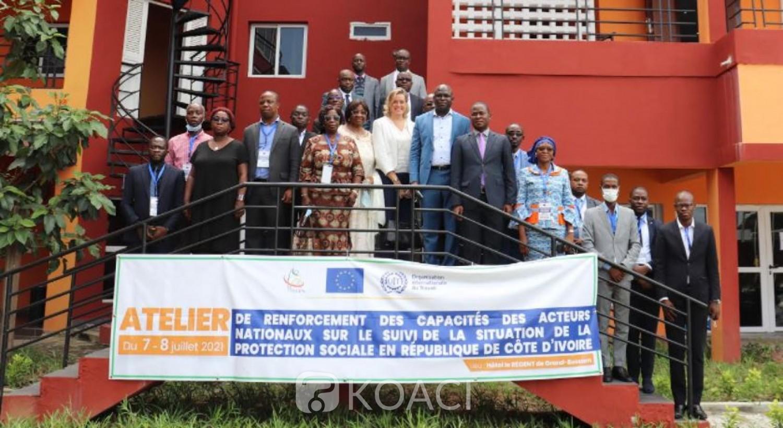 Côte d'Ivoire :   Selon l'UE, 10% de la population bénéficie d'une protection sociale, dont 3% pour le risque maladie, objectif 45% pour la CMU en 2025