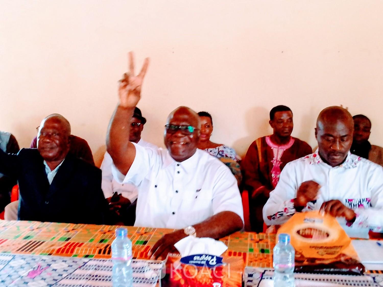 Côte d'Ivoire : Béoumi, Amani Michel invite les militants FPI à calquer Gbagbo car: « Celui qui fait la politique avec les fusils, s'il va à la CPI, il reste là-bas...»