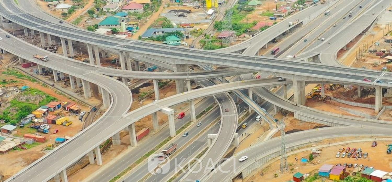 Ghana :  Mobilité urbaine, un échangeur à quatre niveaux inauguré à Pokuase