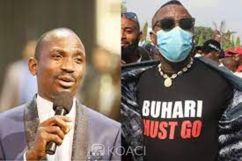 Nigeria : Cinq nigérians arrêtés dans une église pour avoir porté un T-shirt « Buhari doit partir »