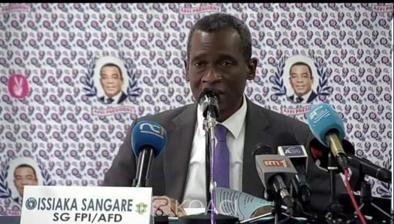 Côte d'Ivoire : Gbagbo présenté comme le président du FPI, le camp Affi s'insurge