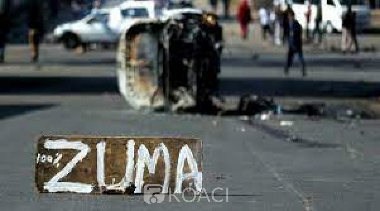 Afrique du Sud : « Manifestations pro-Zuma », le bilan passe à 06 morts et 219 arrestations