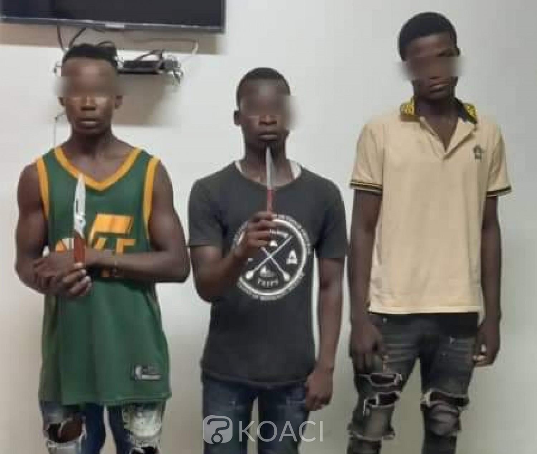 Côte d'Ivoire : Yopougon, arrestation d'une bande d'agresseurs