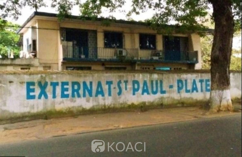 Côte d'Ivoire : Le collectif des anciens et des parents d'élèves de l'Externat Saint Paul d'Abidjan contre une délocalisation mais souhaite plutôt  sa réhabilitation