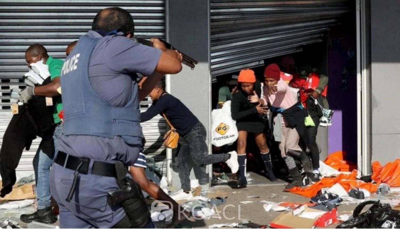 Afrique du Sud : Jacob Zuma en prison, repression sanglante du pouvoir, le bilan grimpe à 72 morts