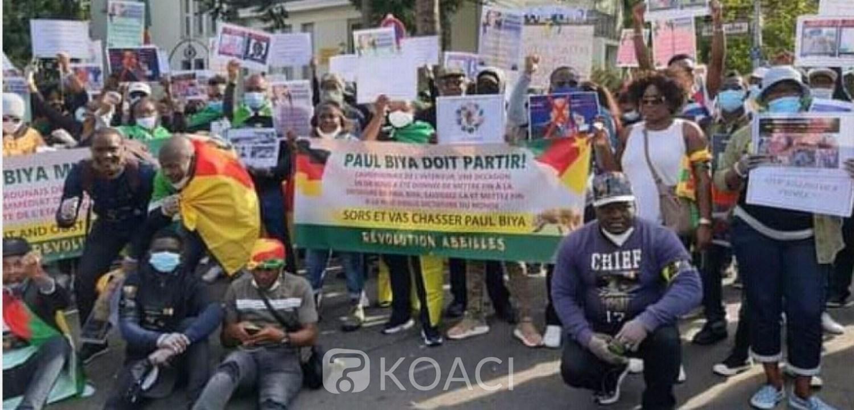 Cameroun : Biya en Europe, des activistes de la diaspora annoncent des manifestations antigouvernementales massives