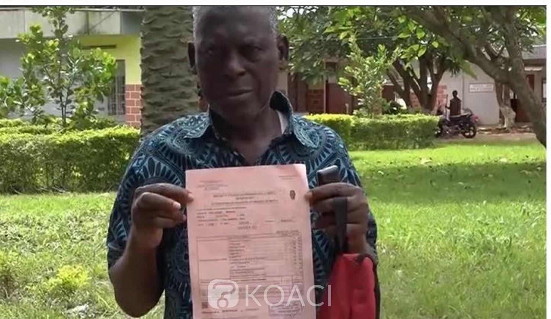 Côte d'Ivoire : A 74 ans Séry Gaoudy, un gendarme à la retraite décroche le BEPC pour donner une leçon de courage à ses enfants