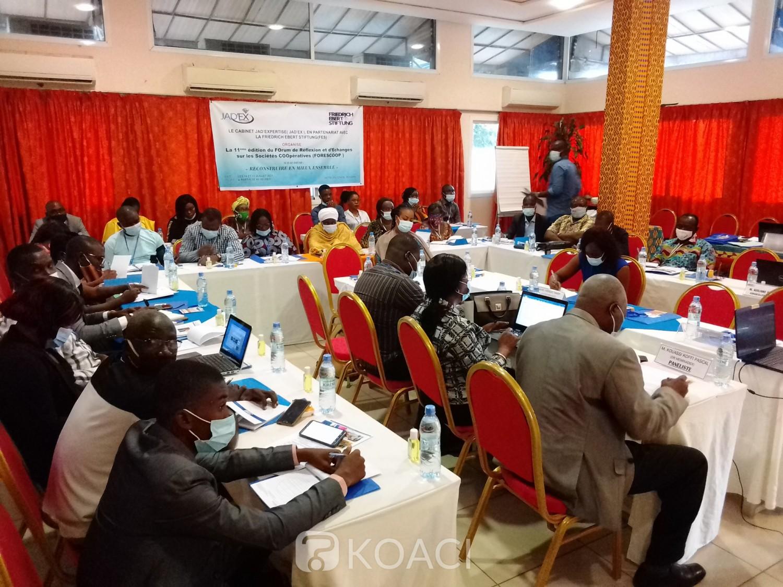 Côte d'Ivoire : Pour permettre aux coopératives de « résister à tous les chocs », le FORESCOOP  organisé à Bouaké