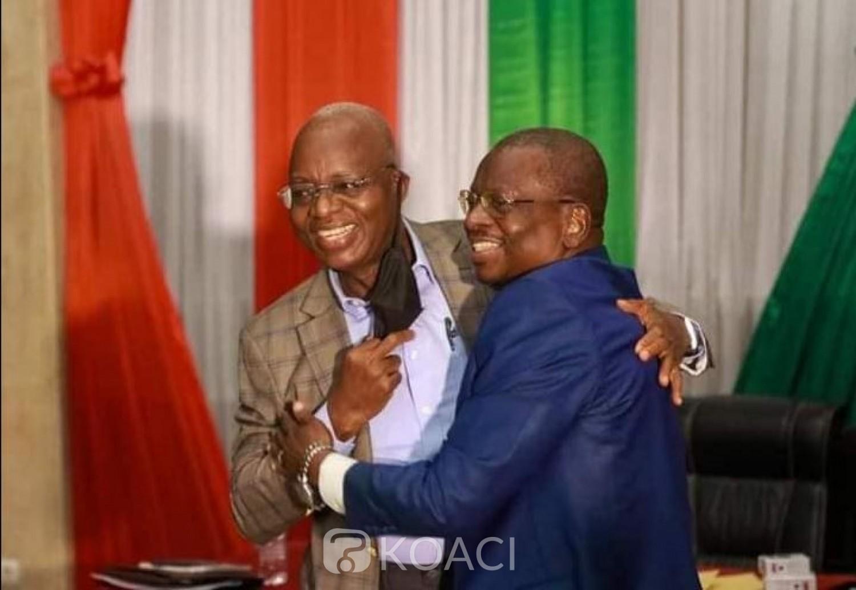 Côte d'Ivoire : Après les législatives, Lida Kouassi et Abdoulaye Kouyaté fument le calumet de la paix