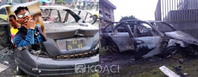 Cameroun :  1 mort dans un accident de la route, le rappeur Tenor parmi les blessés