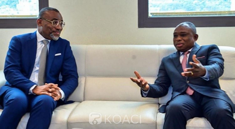 Côte d'Ivoire : Recevant Boga Sako à son cabinet, KKB demande à ceux qui rentrent d'exil de ne pas refermer par leur comportement la porte aux autres