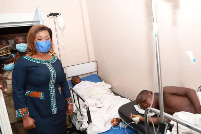 Côte d'Ivoire : Grave accident de Tiassalé ayant fait 23 morts, le Gouvernement dépêche Blemonde Dogo au chevet  des victimes