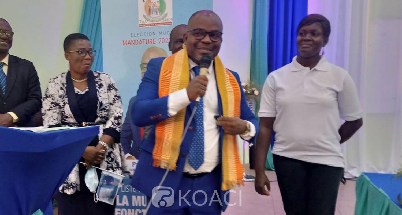 Côte d'Ivoire :   Élection à la MUGEFCI, Pacôme Attaby investi Président du GRS « parrainé » par la FESACI annonce des audits organisationnel et de gestion de l'équipe sortante une fois élu