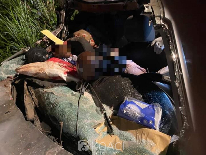 Côte d'Ivoire : Accident sur l'autoroute du Nord, 04 décès suite à une collision