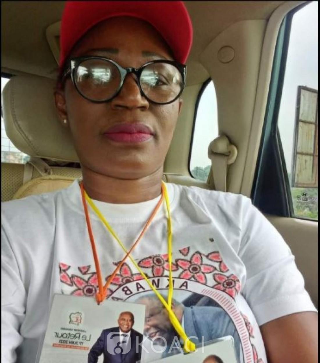 Côte d'Ivoire : L'activiste  Arlette Zaté pas encore jugée la présomption d'innocence dont elle jouit actuellement doit être  respectée, martèle son avocat