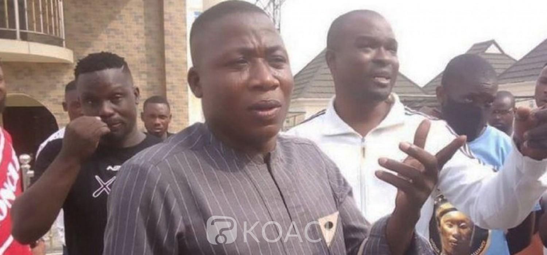 Nigeria-Benin :  Le séparatiste yoruba Sunday Igboho arrêté à Cotonou
