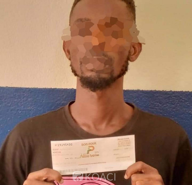 Côte d'Ivoire : Abobo, il présentait des faux bons pour se faire servir du carburant dans les stations-services