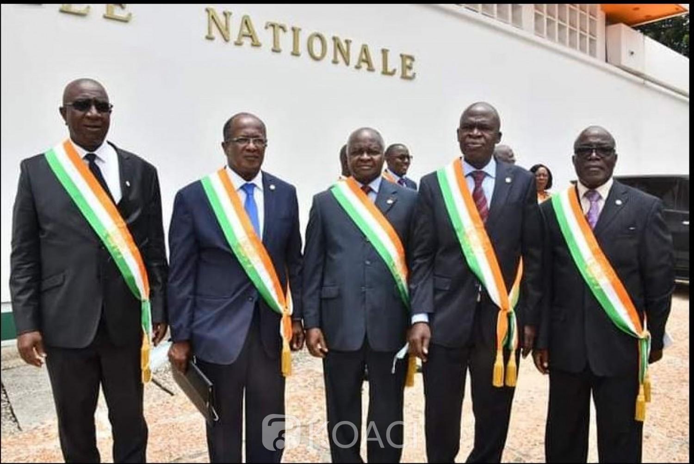 Côte d'Ivoire : Assemblée Nationale, Hubert Oulaye désigné président du groupe parlementaire EDS, voici le bureau