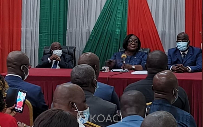 Côte d'Ivoire : Anne Ouloto à ses parents Wê : « Faisons la politique avec intelligence »