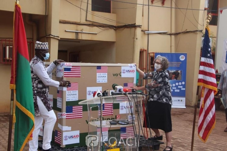 Burkina Faso : Covid-19, même si très peu touché, les États-Unis offrent plus de 150.000 doses de vaccins Johnson and Johnson