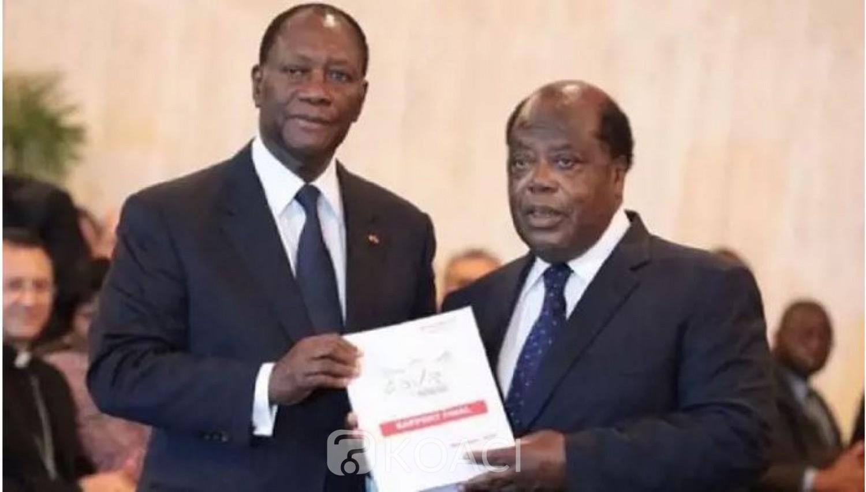 Côte d'Ivoire : Banny met enfin les principales conclusions et recommandations du rapport de la CDVR à disposition du public et s'explique