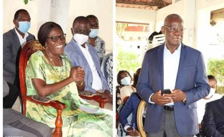 Côte d'Ivoire : Simone Gbagbo à Eric Kahé : « Tu auras le temps de voir qui t'attendait et qui n'est pas content de te voir dans ton pays »